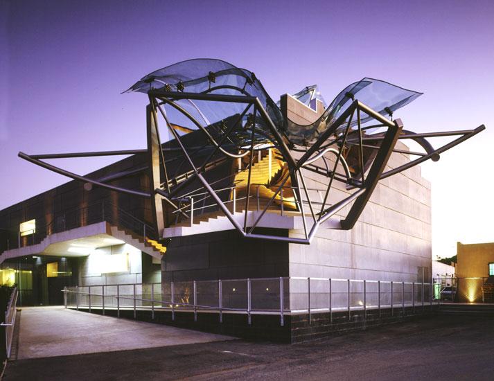 Samitaur builds for Architecture upbrella